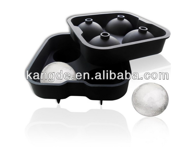 BPA Free Silicone Ice Cube Tray/Ice Ball Maker,food grade silicone ice cube tray