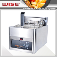 2016 Hot Sale Commerical Electric Automatic Basket Lift 12L Countertop Deep Fryer