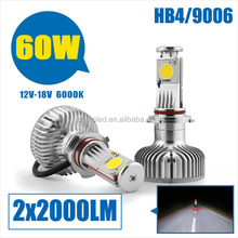 DC12~18V 5000K 9006 led car headlight kit/car headlight / led car headlight for Chevrolet Toyota Honda BMW Audi