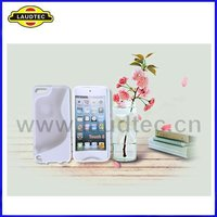 TPU+PC s curve case cover for Apple ipod touch 5 back case