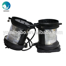 Marine suppliers waterproof IP56 double deck starboard navigation signal marine light