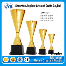 supply customized high quality metal angel figurines trophy for sale