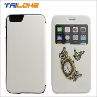 Mobile phone flip case for apple iPhone 6