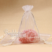 Favor wedding candy organza pouch with ribbon