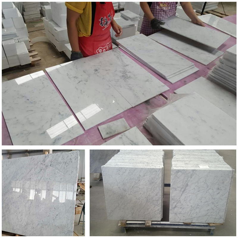 White Marble Bianco Cararra White Marble Tiles and slabs