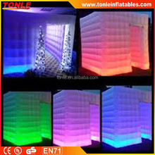LED light indoor or ourdoor inflatable photobooth for sale