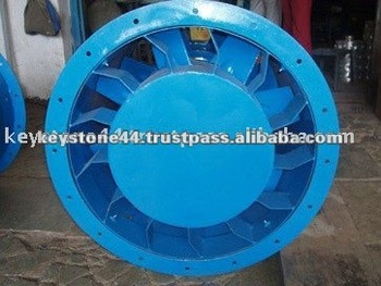 KEYSTONE Hig Pressure Tube Axial Flow Fan with Double Impeller