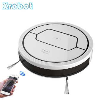 High suction power smart robot sweeper floor cleaner auto vacuum with app wifi control