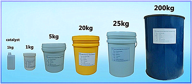 high quality moulding silicone for concrete mold making