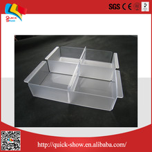 2016 hot sale clear plexiglass waterproof acrylic box