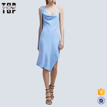 Ladies noble wear pictures of elegant casual dresses soft drape fairy dress