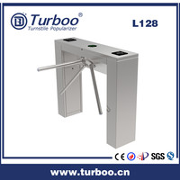 Smart high security semi-automatic industrial tri-pod turnstile access controler mechanism