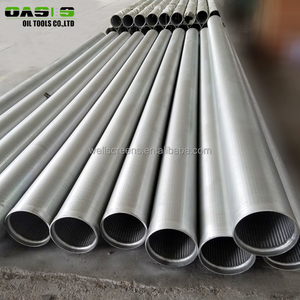 8 5/8 inch Carbon Steel Johnson V Wire Slot Screen Pipes