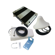 900/1800/2100MHz 70db High Gain Cell Phone Triband Amplifier Tri-band GSM + DCS + 3G Signal Booster Repeater