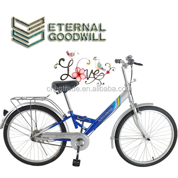 Adult bicycle/bikeGB3026 two wheel bike/bicycle /city bike /man bicycle 26 inchs single speed with high quality to customers