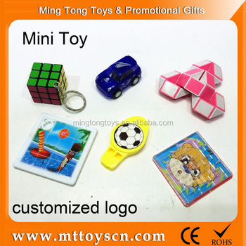 Promotional children plastic mini toy