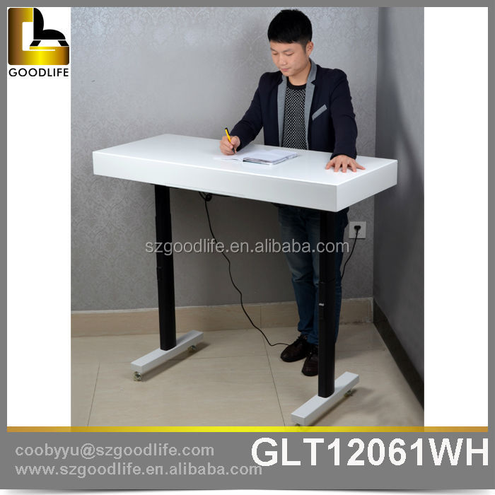 Goodlife design up and down wooden study table designs for for Table up and down but