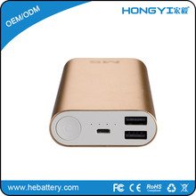 slim smart mobile phone fast charger power bank for travel portable charger HE-678[HONGYI]