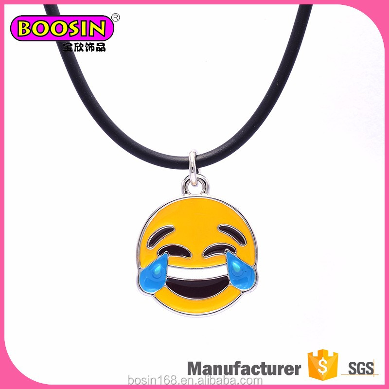 High quality promotion emoji charms and pendants