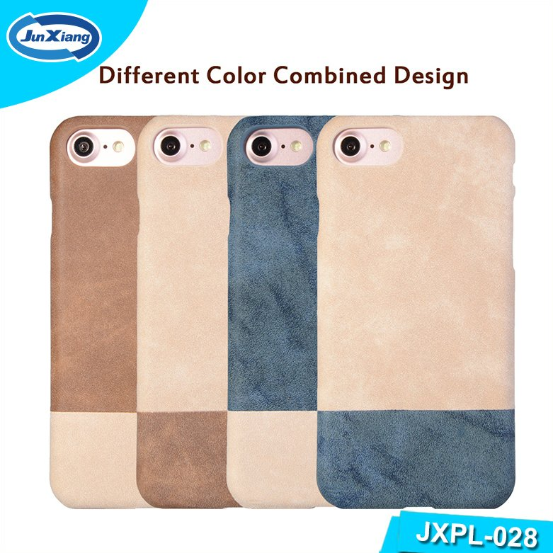 2016 Wholesale Smart Cell Phone Mobile Phone Accessories PU Leather Cover Cases for iPhone 7/7Plus