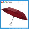 Foldable automatic umbrella with eight panels and velcro fastening