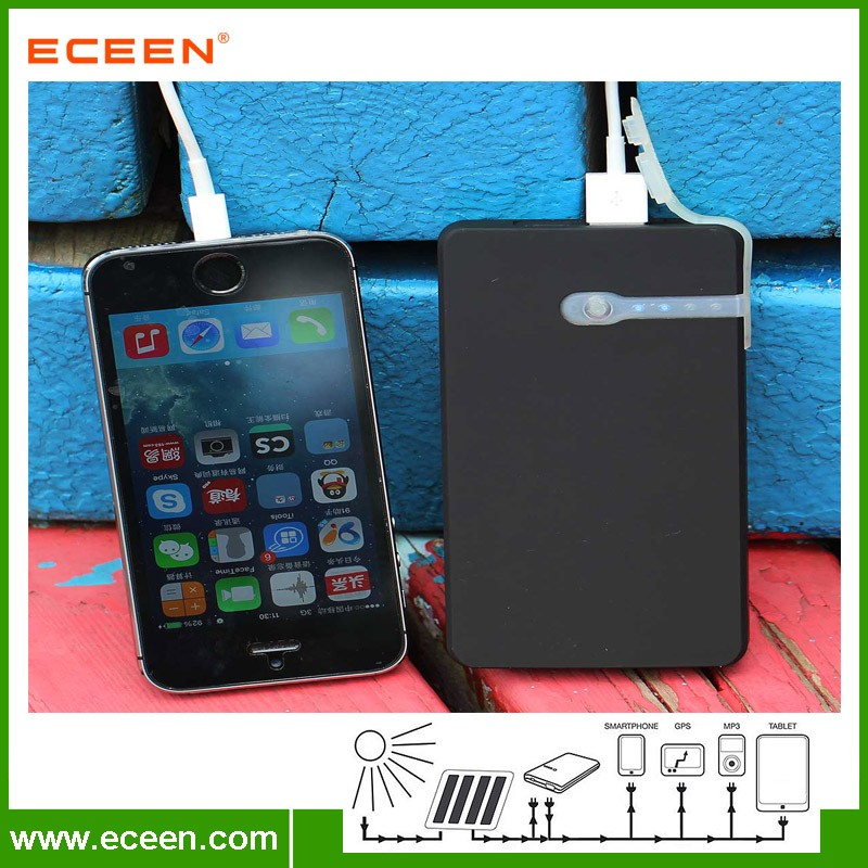 Waterproof portable 5000mah power bank
