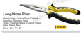 Y01027 hand tools long nose plier