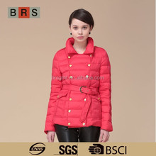 Manufacturer women fashion jacket/china down jacket