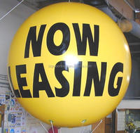 2 meter custom giant helium balloon big large inflatable now leasing helium balloon