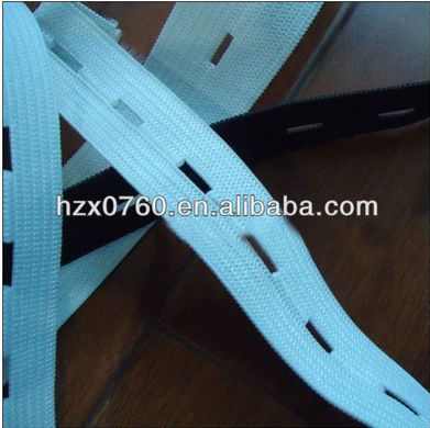 Customized Silver Elastic Band High quality design of jacquard elastic webbing