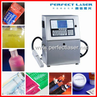 Hotsale 2015 new machine Perfect Laser yellow/white/black inkjet code printer 1-4/5/6 lines bottles bags wires cables pipe