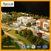 ho villa model with great landscape