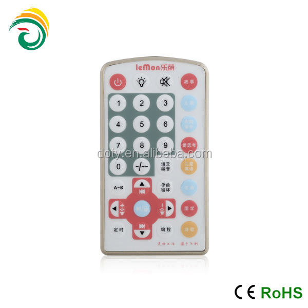 lovely design IR learning remote control for kids