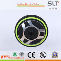 48V 800W Brushless Geared Wheel Hub Motor for Ebike