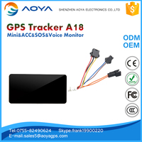 Mini multi function vehicle Tracking SOS real time gps tracker
