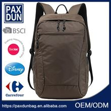 New products plain promotional bag backpack, simple design fashion black big outdoor adventure backpack hiking
