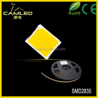 High Power SMD 2835 Chips CE 100-120lm 1W LED chip