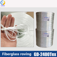 2017 hot selling 2400Tex Jushi E-glass direct fiberglass roving for tank boat FRP products
