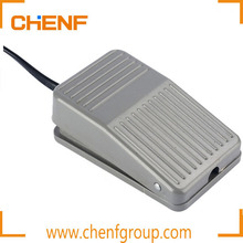 Supply Competitive Price 240V 10-15A Electric Foot Pedal Switch/ Press Brake Foot Pedals / In-line Aluminium Foot Switch With CE