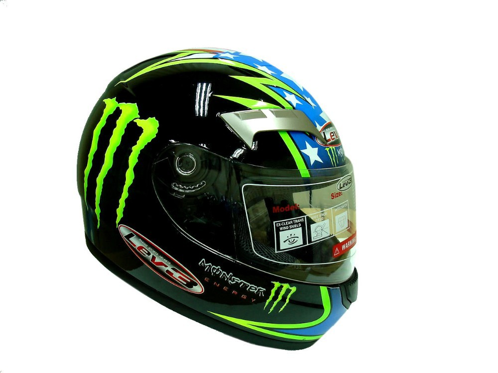 LEV3 BJ-9900 FULL FACE HELMET