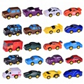 Assorted Pull Back Vehicles plastic custom mini toy car