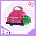 Plush cute frog animal handbag