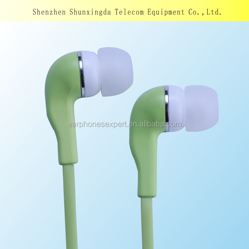 Factory supply hot cheap earphones,buy earphones china