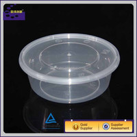 Plastic click lock food container food storage containers