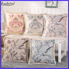 European-style Office Seat Cushions Pillow Cover Washable Pillow Case