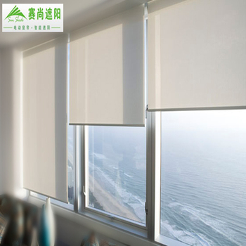Indoor blackout Motorized roller blinds /Electric roller blinds /Auto roller blinds