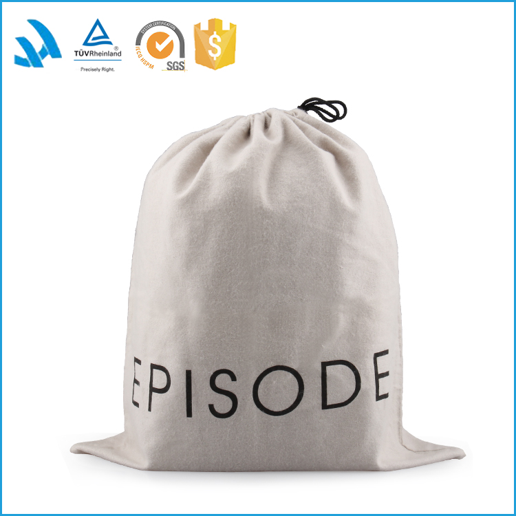 High quality wholesale cotton dust bag for handbag in low price