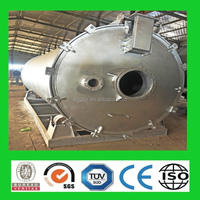 high yield efficiency ! tire recycling pyrolysis plant to oil environment friendly