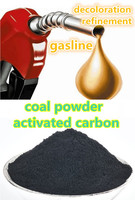 Powder carbon for gasline solvent recovery bleaching refining purifying