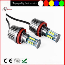 Super powerful bright E92 H8 LED Angel Eyes 120w CRE Chips LED marker kit white for bmw E87 E82 E92 E93 E90